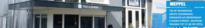 Badkamers, tegels en sanitair showroom Assen